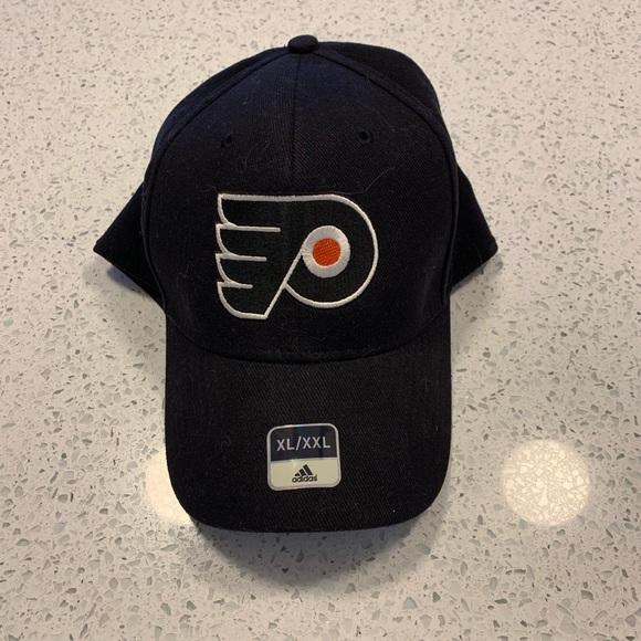 new style 35b6f 974e7 Philadelphia Flyers Adidas Flex Fit Hat